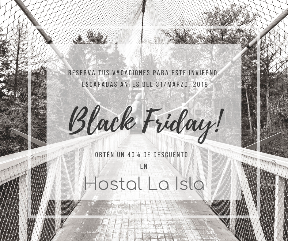 Black Friday en Hostal la Isla